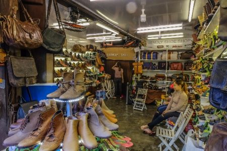 Shoes, friendly, store, display, leather, handmade shoes