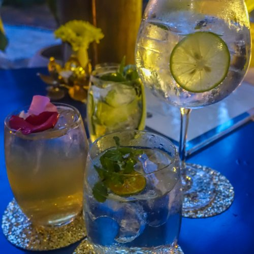 T Room Gin Bar. Bars. Review. Assorted Drinks
