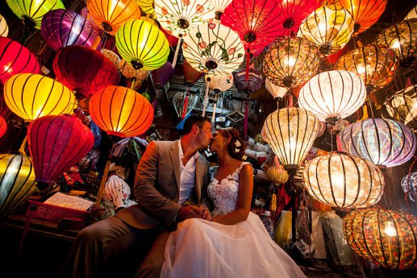 Get married in Hoi An. Lanterns
