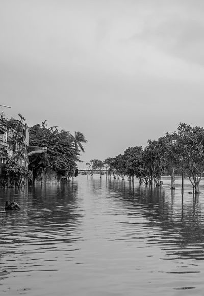 Floods in Hoi An: 2016. Hoi An's Rainy Season. Bang Dang Street