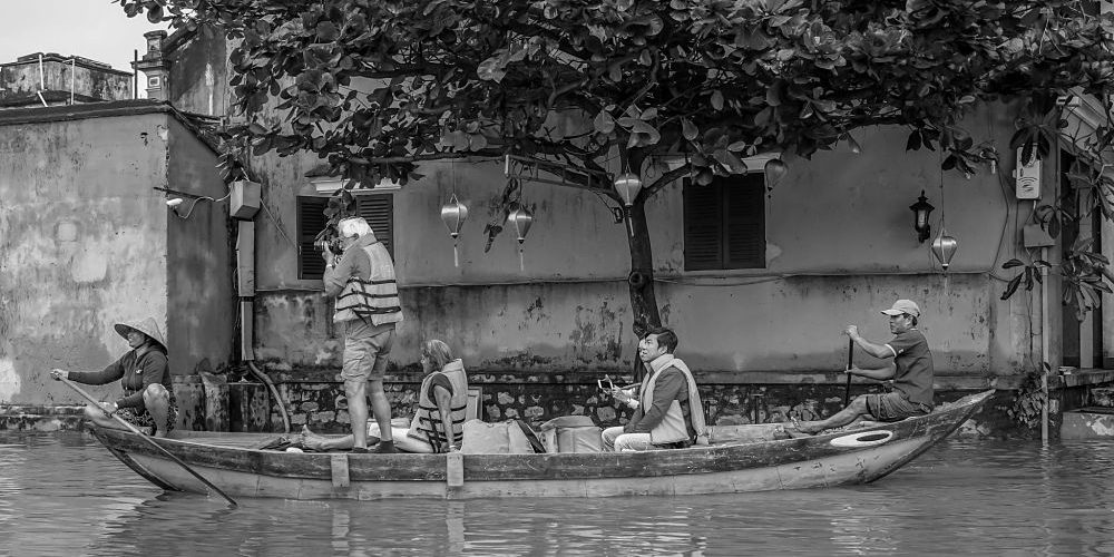 Rainy Season. Floods in Hoi An: 2016. Hoi An's Rainy Season. Flood tourism