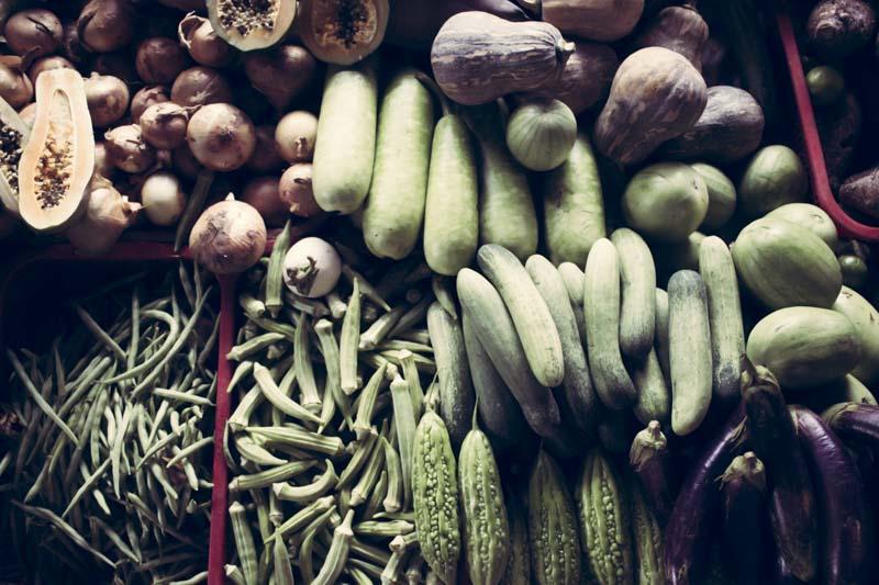 Ba Le Market Produce