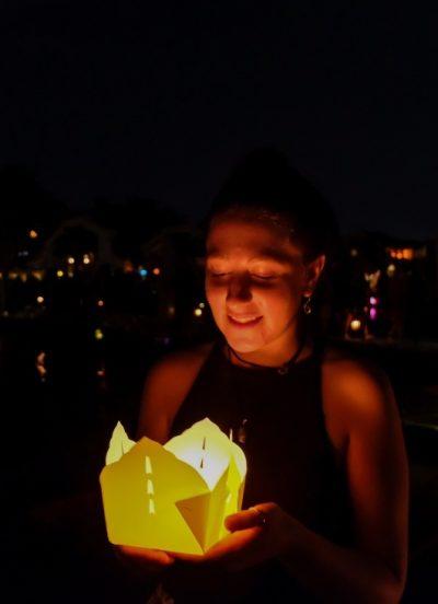 lantern festival, full moon, full moon lantern festival, lantern, portrait, night
