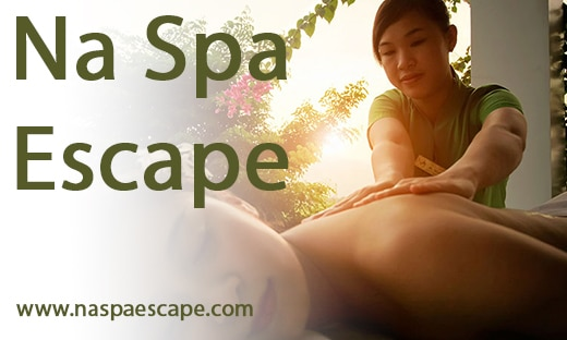 Na Spa Escape Promotion Banner