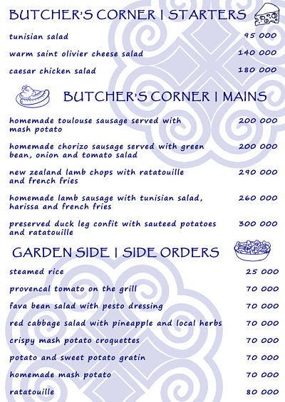 H'Mong Sisters Delivery menu Page 3