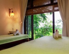 Na spa, na spa escape, massage, spa, hoi an spas, treatment, massage room, towels, bamboo
