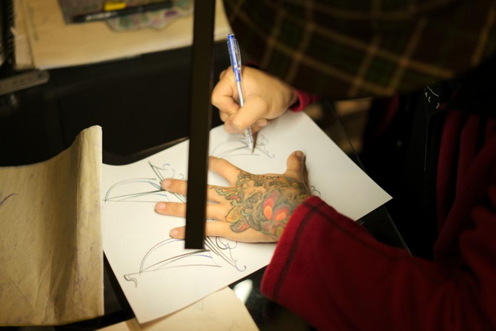 1984 Tattoo Studio - Sketch