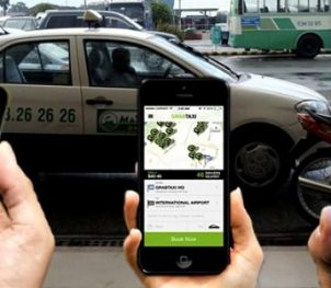 uber cars Hoi An, download app, Vietnam, travel, taxis, transport, getting around in Vietnam