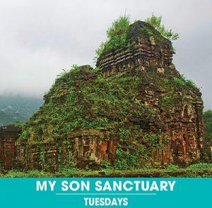 My Son Sanctuary. Hoi An Express. Tuesdays