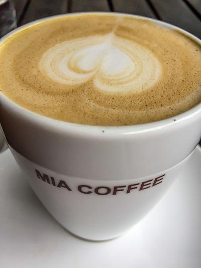 Mia Coffee. Flat white