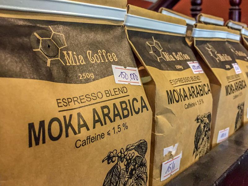 Mia Coffee. Ground Aribaca Beans