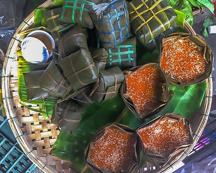 Tet Food. tet newsletter. banh chung