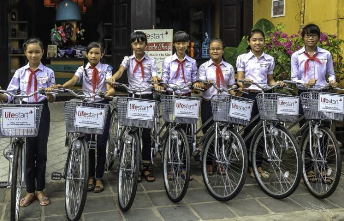 Lifestart Foundation. Bicycles-1