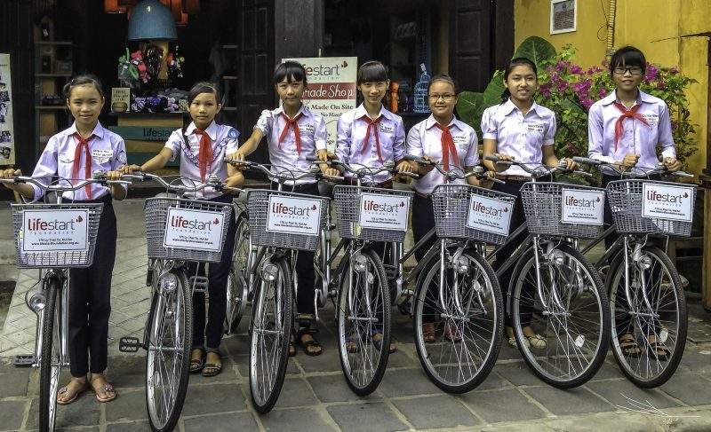 Lifestart Foundation. Bicycles-1