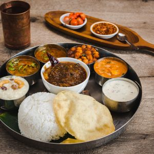 Indian Restaurant. Baba's_Kitchen_Mixed_Platter
