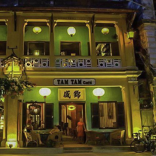 Hoi An Cafes. Tam Tam Cafe