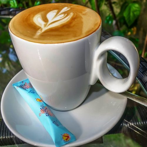 Hoi An Cafes. No 11 Coffee Roastery and Cake. Cup Coffee, Hoi An, Vietnam