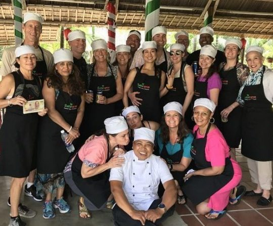 Sabirama Cooking Class Group pic
