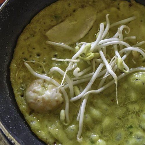 Sabirama Cooking Classes. Banh Xeo