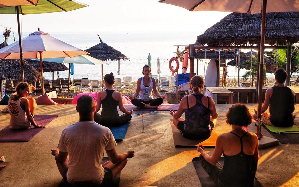Free Yoga Event, Hoi An, The Fisherman Vegan Restaurant, Hoi An Now