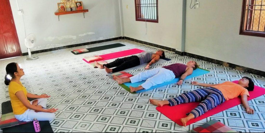 Annen Yoga in Hoi An Vietnam Studio Restaurant