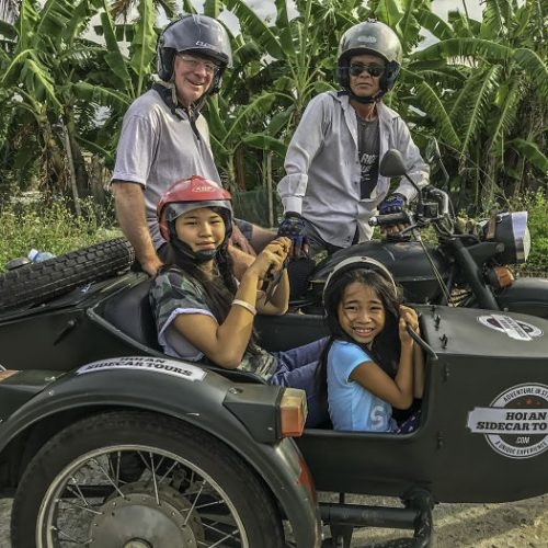 Hoi An Motorcycle Adventures. Hoi An Sidecar Tours, kids hoi an, things to do with kids in hoi an, hoi an kids, kids da nang, da nang kids