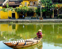 Hoi An Old Town, Vietnam, An Hoi, boats Hoi An, vietnam