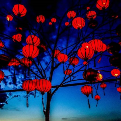 hoi an lanterns, the chef restaurant, hoi an, vietnam, travel to hoi an