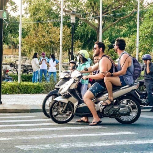 Road Rules Vietnam, Rules of the Road, Vietnam, wear helmets