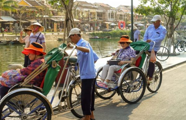 Road Rules Vietnam, Rules of the Road, Vietnam, Old Town, cyclos, how much to rent a cyclo