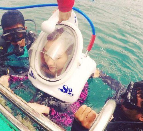 Sea TREK. walking-underwater-seatrek
