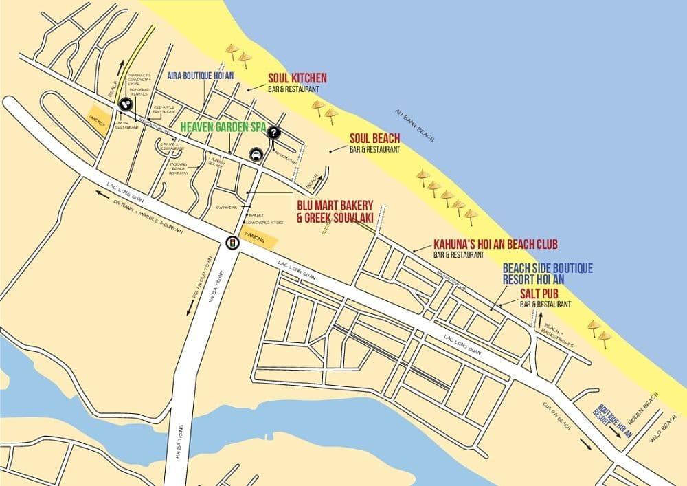 Maps. An Bang Beach