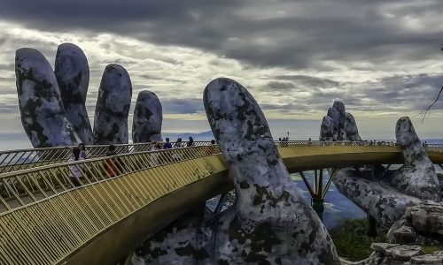 Do. Things to See in Hoi An. ba na hills golden bridge