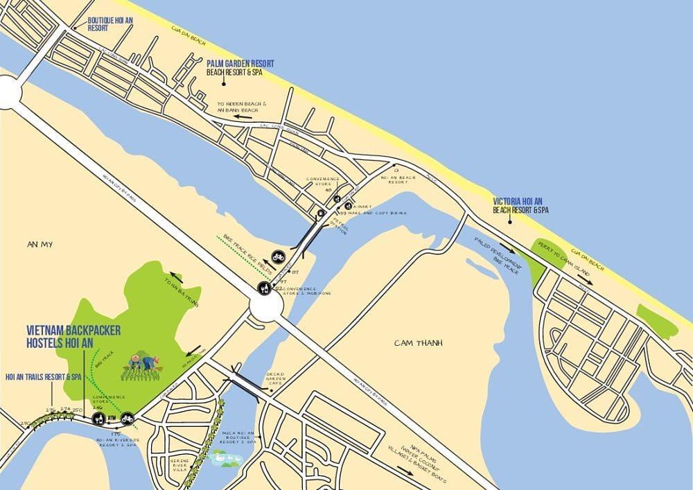 maps. Upper Cua Dai