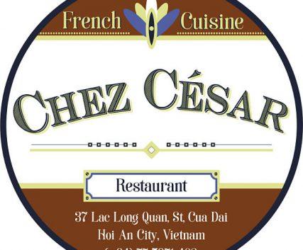 chez cesar delivery menu. logo