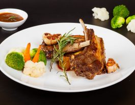 La maison Deli Hoi An. Hoi An Restaurants, Hoi An Cafes. Lunch_Diner. Rack of Lamb