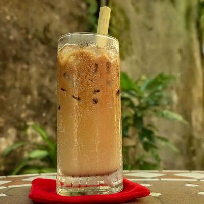 Cafe Sua Da, Iced coffee, best vietnamese coffee hoi an, best coffee hoi an, Tram Lang cafe hoi an