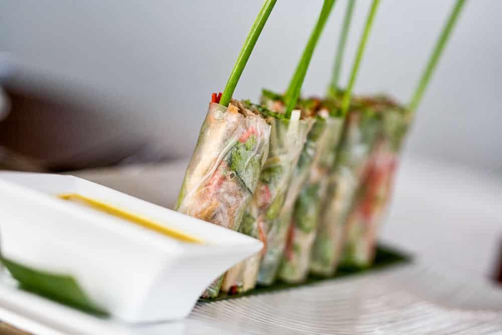 Best Vietnamese Restaurants in Hoi An. Fresh Spring Rolls