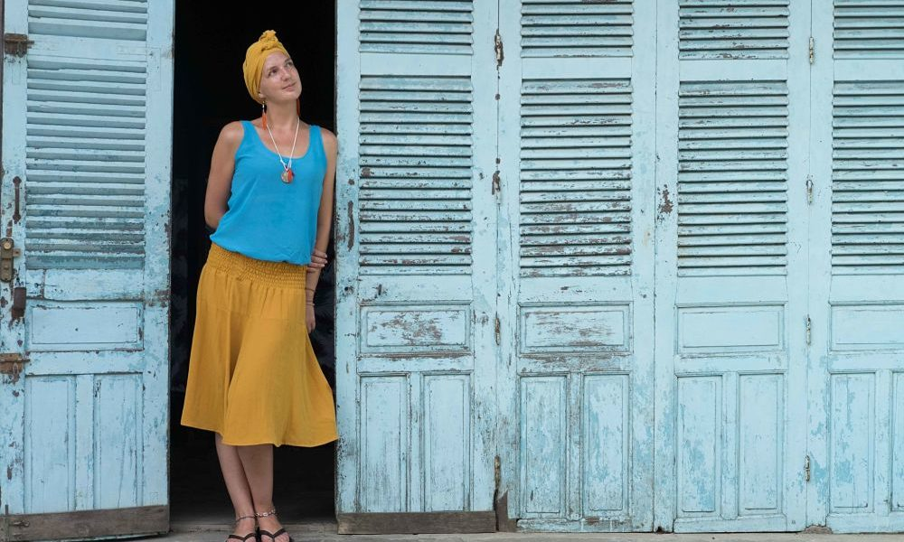 The highs and lows of Living in Hoi An. Emma Sothern in doorway