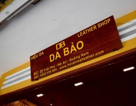 Da Bao Real Leather, Hoi An Leather bags, leather jacket Hoi An, vietnam leather