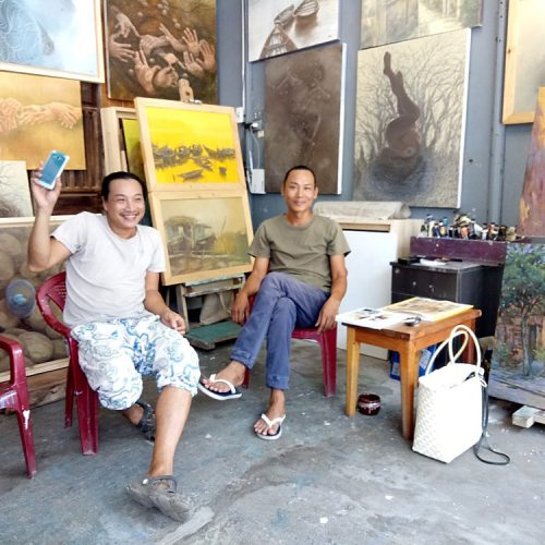 Alley Artists Ba Le Well - Best Hoi An Art Galleries