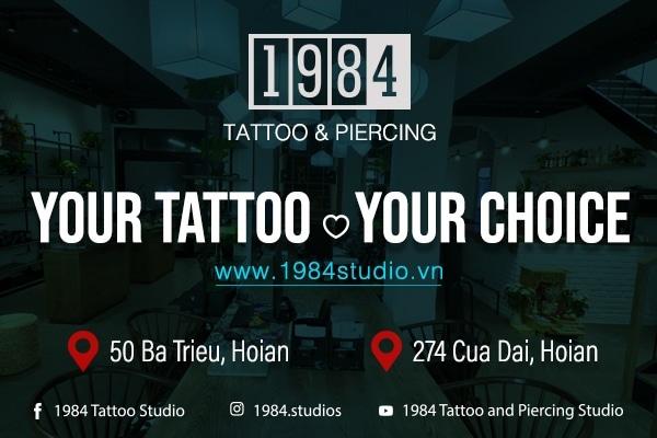 1984 Tattoo & Piercing Ad August 2019