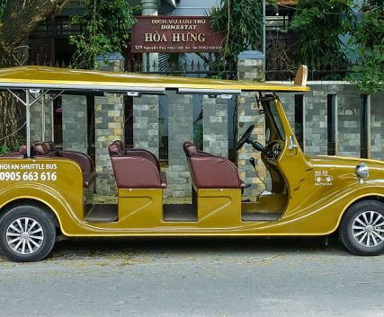 Hoi An Shuttle bus provides a taxi and bus service around Hoi an as well as tours.